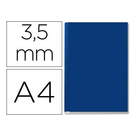 Tapa de Encuadernación Cartón Leitz A4 Azul 10/35 hojas