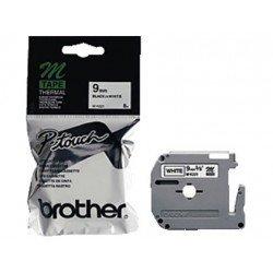 Cintas Brother MK-221BZ 9mm (ancho) x 8m (largo) negro/blanco