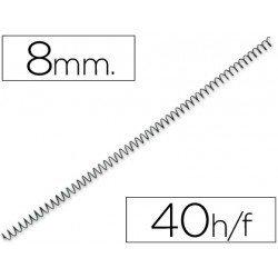 Espiral metalica Q-connect paso 64 8 mm