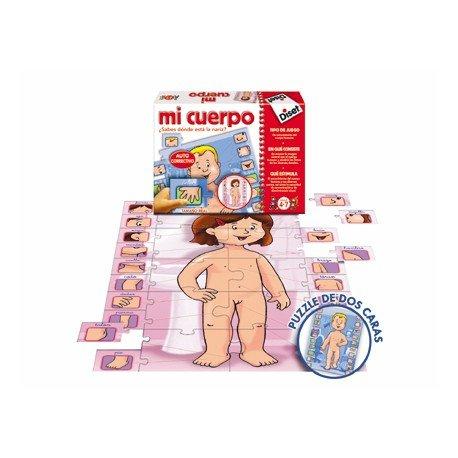 Puzzle educativo de 5 a 7 años Mi cuerpo Diset