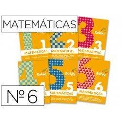 Cuaderno rubio conceptos y ejercicios matematicas evolucion nº 6