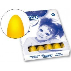 Barra maquillaje Jovi amarillo