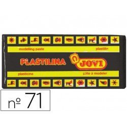 Plastilina Jovi Negro mediano