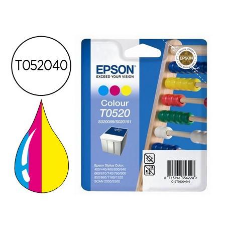Cartucho Epson T052040 tricolor