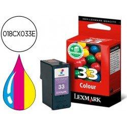 Cartucho Lexmark 018CX033E Tricolor