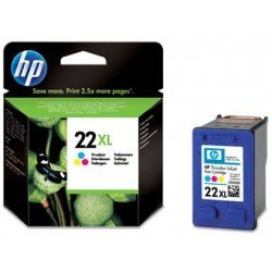 Cartucho HP 22XL Tricolor C9352CE