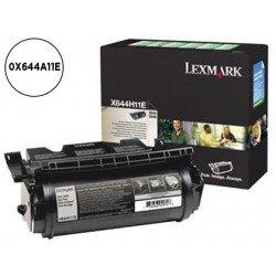 Tóner Lexmark 0X644A11E negro