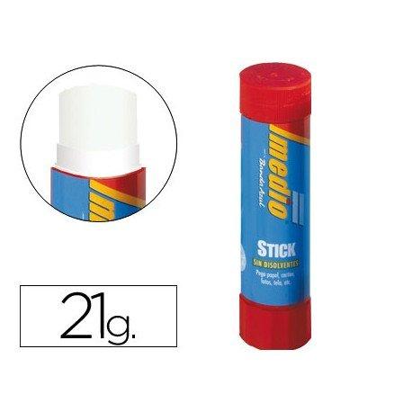 Pegamento en barra marca Imedio 21 gr