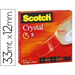 Cinta adhesiva Scotch crystal