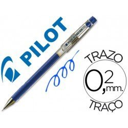 Boligrafo marca Pilot punta aguja 0,2 mm g-tec-c4 azul