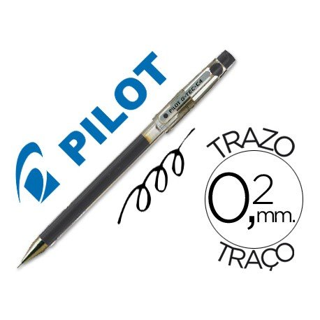 Boligrafo marca Pilot punta aguja 0,2 mm g-tec-c4 negro