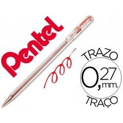 Boligrafo Pentel BK-77 rojo