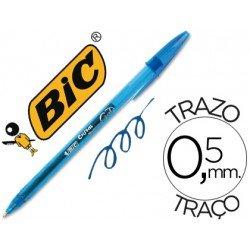 Boligrafo Bic Cristal Gel azul 0,5 mm
