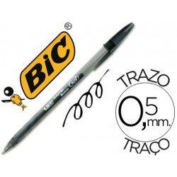 Boligrafo Bic Cristal Gel negro 0,5 mm