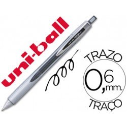 Boligrafo roller Uni-ball Vision RT negro 0,6 mm