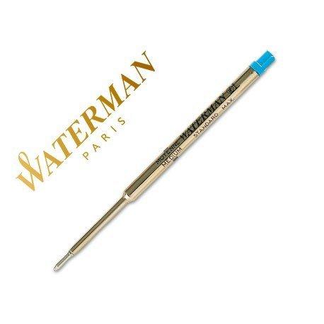 Recambio boligrafos Waterman azul