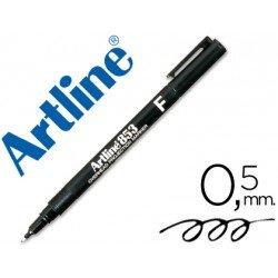 Rotulador retroproyección Artline EK-853 Permanente Negro Punta Redonda