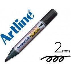 Rotulador Permanente Artline 170 Negro Punta Redonda