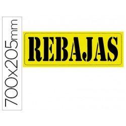 """Cartel """"Rebajas"""""""
