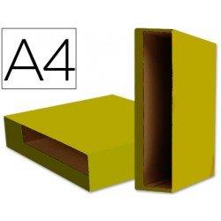 Caja archivador de palanca Liderpapel Din A4 Color System Amarillo