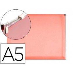 Carpeta sobre cremallera Liderpapel Din A5 rojo