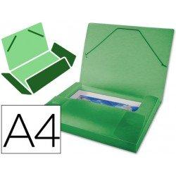 Carpeta Beautone lomo rigido gomas Beautone Din A4 verde