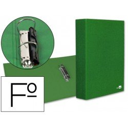 Carpeta 2anillas 40mm Folio Liderpapel Verde