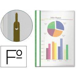 Carpeta dossier fastener Esselte Folio verde