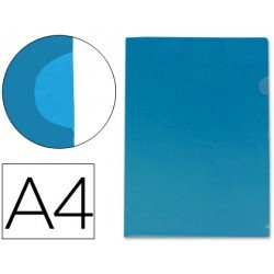 Funda dossier uñero Din A4 azul