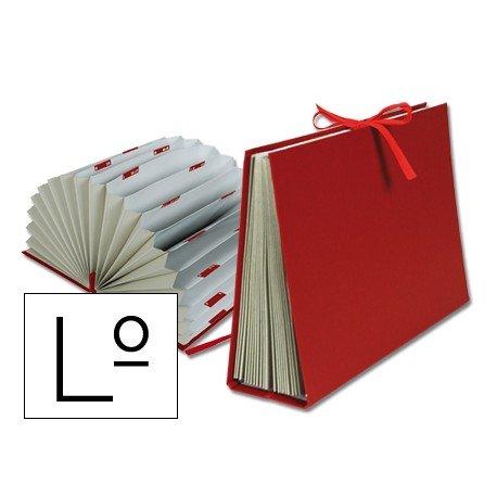 Carpeta clasificadora carton Liderpapel