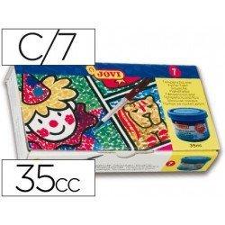 Tempera Jovi 7 colores surtidos 40 cc