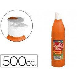 Tempera liquida Jovi naranja 500 cc