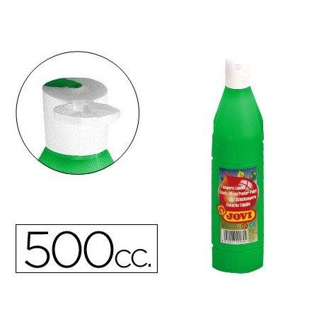 Tempera liquida Jovi verde 500 cc