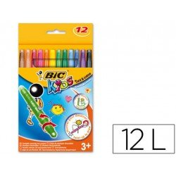 Lapices cera Turn&Colour Bic Kids