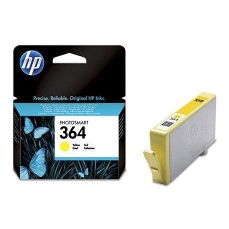 Cartucho HP 364 Amarillo CB320EE