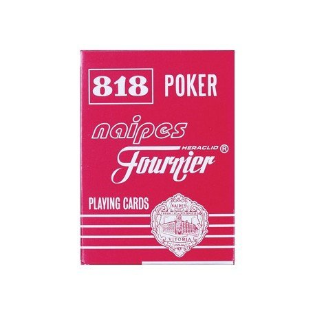 Baraja Poker ingles y Bridge Modelo 818/55 Fournier