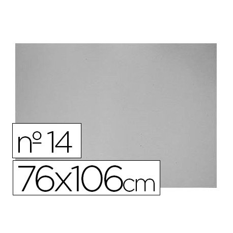 Carton gris Liderpapel Nº 14
