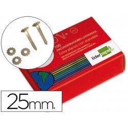 Encuadernadores Liderpapel con arandela y 25 mm