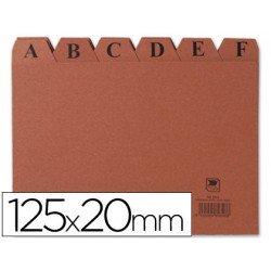 Indice fichero Liderpapel N4 carton