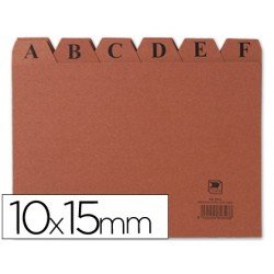 Indice fichero Liderpapel N3 carton