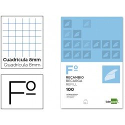 Recambio Liderpapel Folio 8mm
