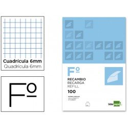 Recambio Liderpapel Folio 6mm