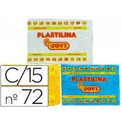 Plastilina Jovi Colores surtidos grande Caja 15 unidades