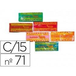 Plastilina Jovi Colores surtidos mediano Caja 15 unidades