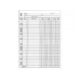 Recambio Multifin Cuarto cuentas 3003
