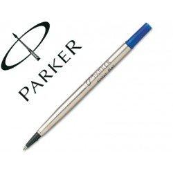 Recambio rotulador roller Parker azul 0,8