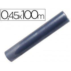 Rollo plastico forralibros Liderpapel 0,45 x 100 mt.