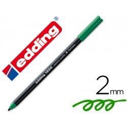 Rotulador Edding 1300 Verde