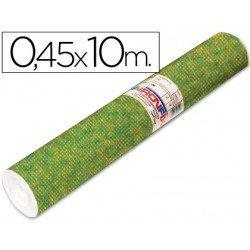 Aironfix Rollo Adhesivo 45cm x 20mt Especial Ante Verde Oscuro