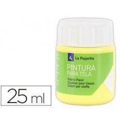 Pintura para tela La pajarita amarillo claro 25 ml